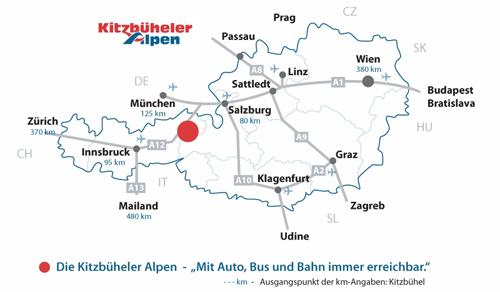 anreisekarte-kitzbuehler-alpen